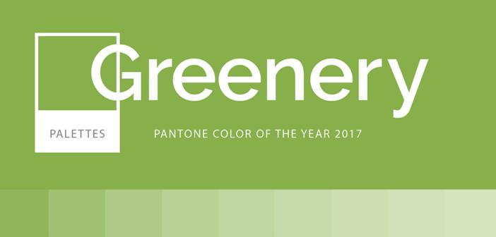 Greenery colore del 2017