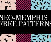 Pattern neo-memphis da scaricare