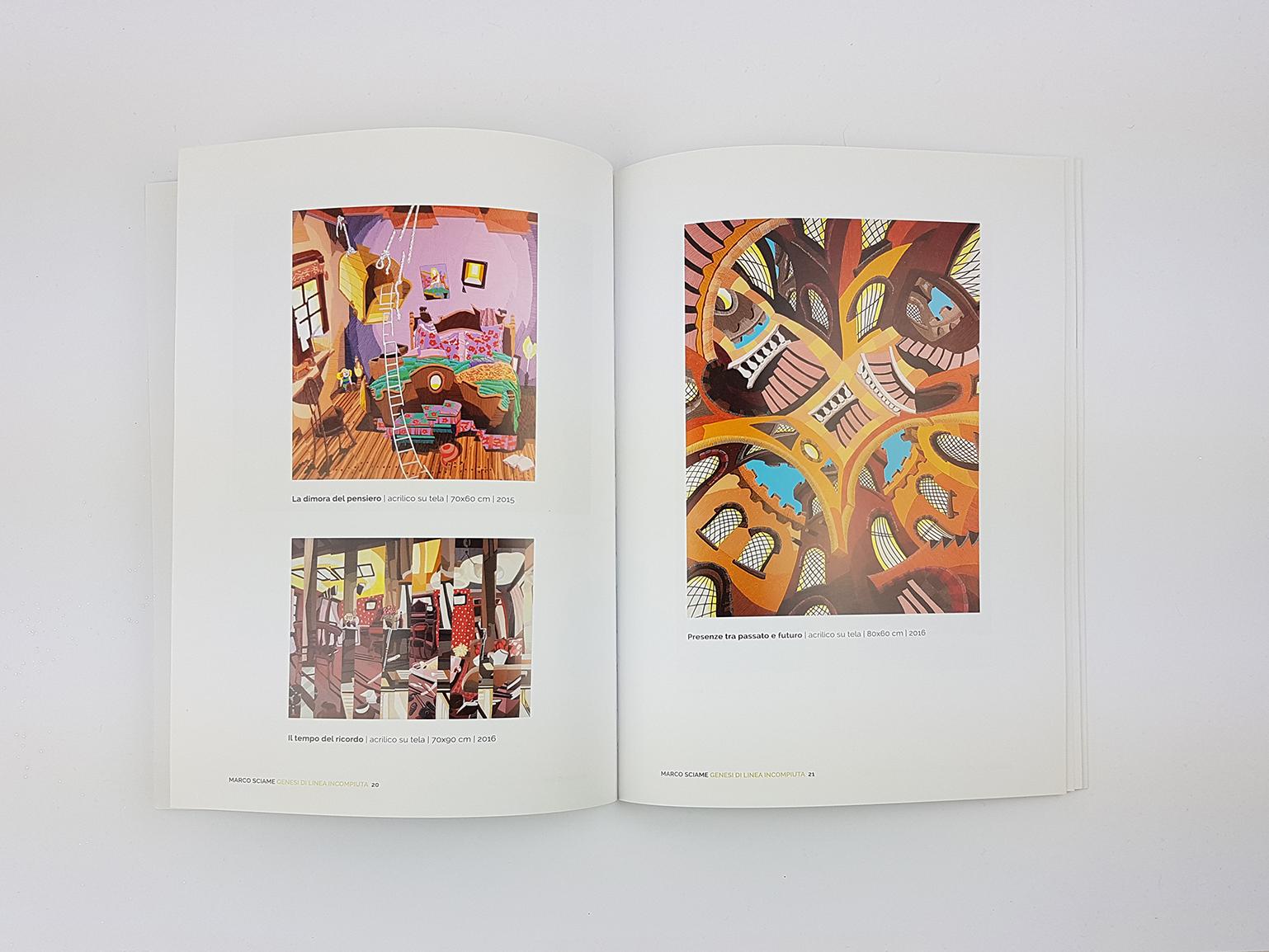 684fec45c6f1 Catalogo d arte per l artista Marco Sciame - Dangeloweb di Valentina ...