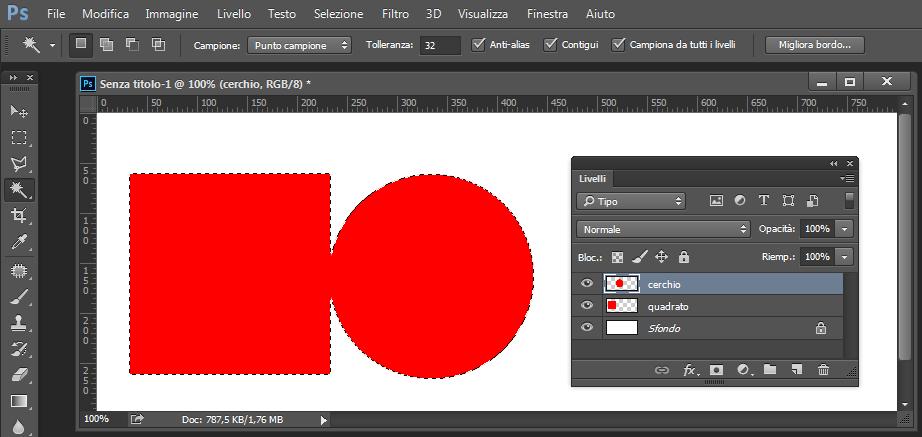 Photoshop CC 2014 - Bacchetta Magica - Campiona da tutti i livelli