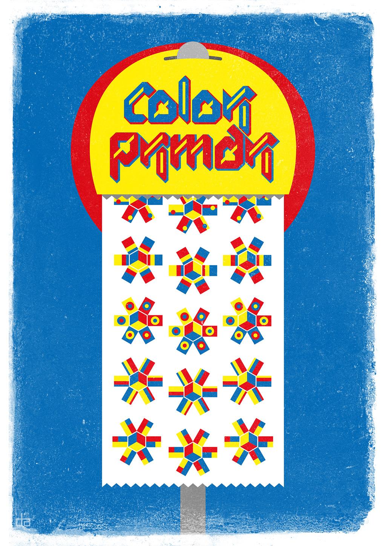 Distributore di Colori Primari