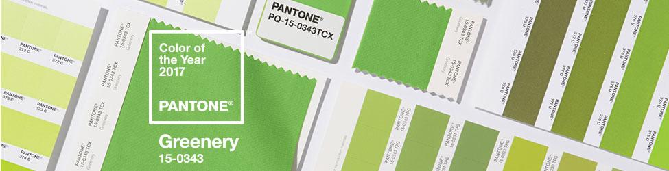 Pantone Greenery 2017