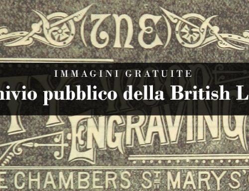 Immagini gratuite: l'archivio pubblico della British Library