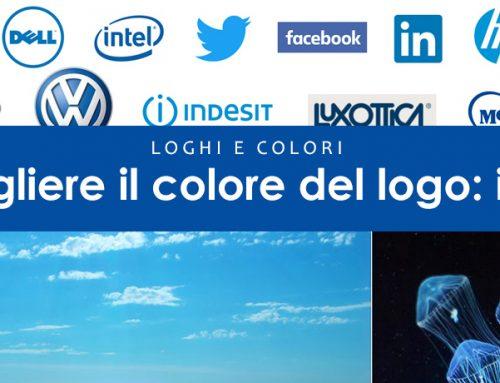 Come scegliere i colori per il logo: loghi blu