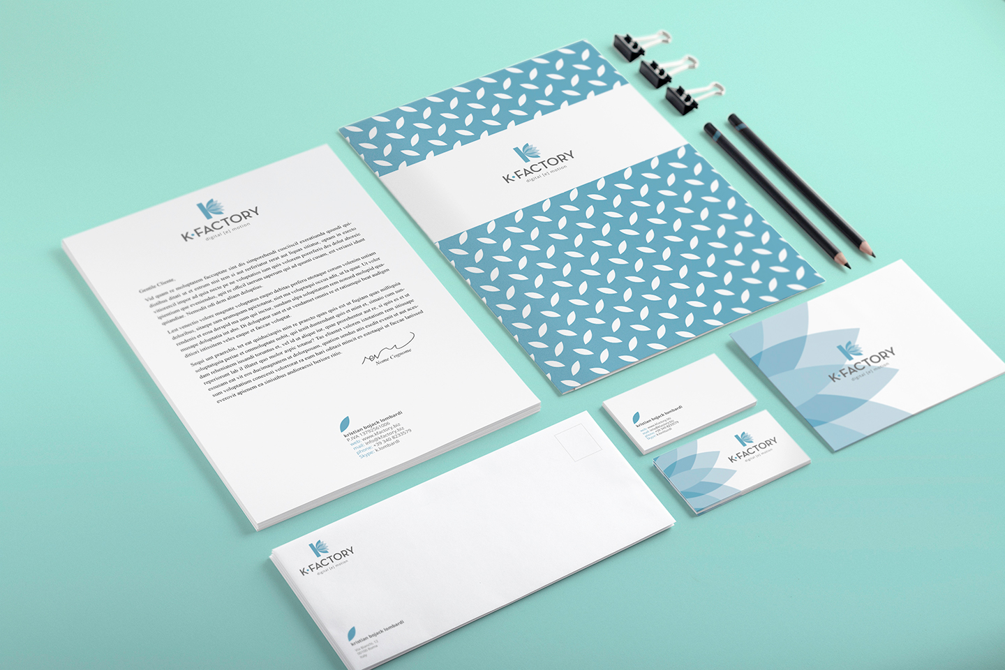 Branding K-Factory - Dangeloweb