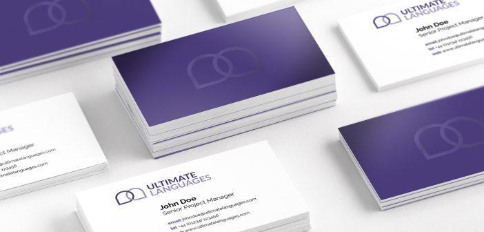 Un nuovo progetto di branding con UltraViolet